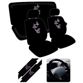 Butterfly 11 PCS Combo Set Car Seat Covers