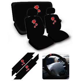 Lady Bug 11 PCS Combo Set Car Seat Covers